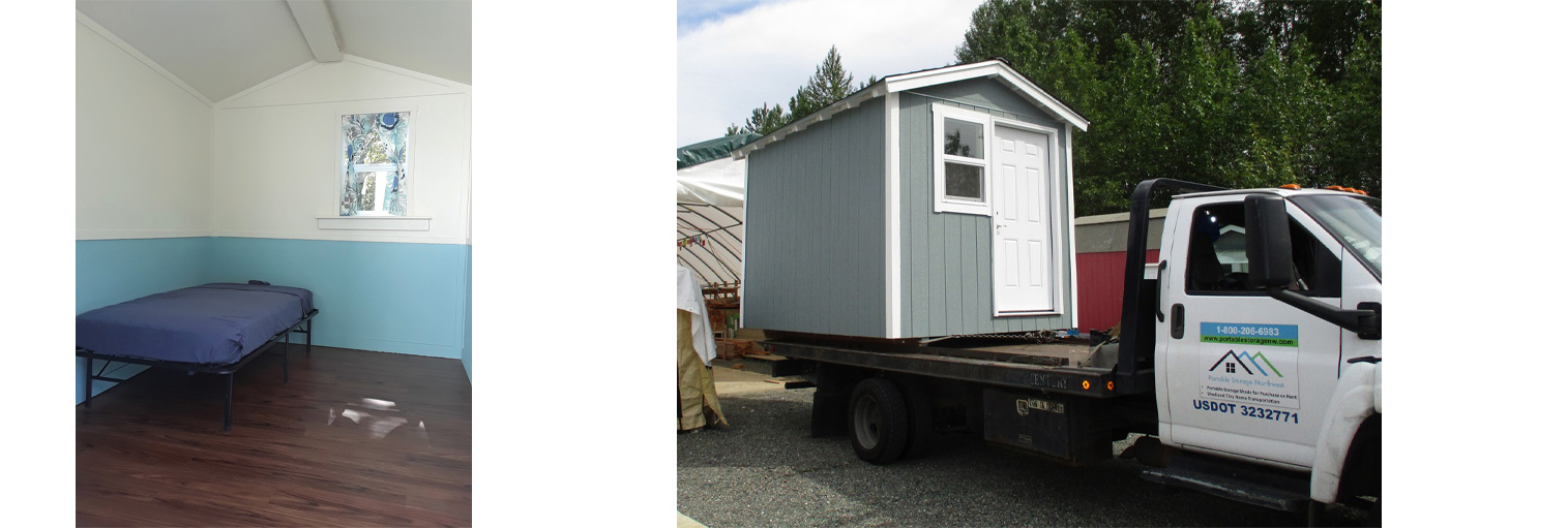 Building tiny homes for the homeless in Seattle, WA